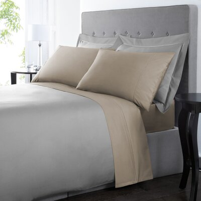 Blanc De Blancs 1000 Thread Count Sheet Set Size: Queen, Color: Taupe