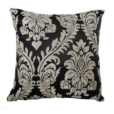 Adrien Lewis Damask Jacquard Polyester Throw Pillow