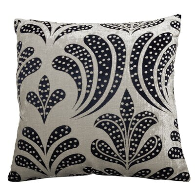 Clovis Lily Jacquard Polyester Throw Pillow