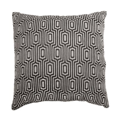 Baillie Losenge Jacquard Polyester Throw Pillow