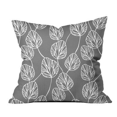 Adrien Lewis Cotton Throw Pillow Color: Grey