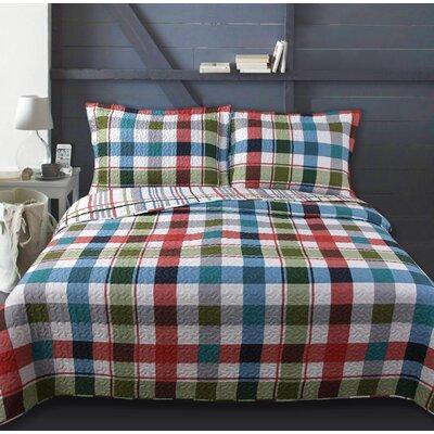 Lauren Taylor Rinoa Juvenile Quilt Set Size: Twin