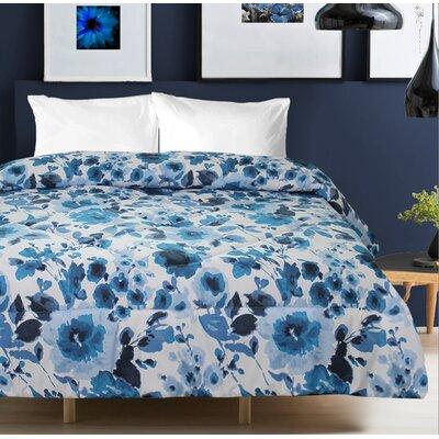 Studio 707 Nora Floral Printed Comforter Size: Queen