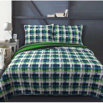 Lauren Taylor Tesoro Juvenile Reversible Quilt Set Size: Twin