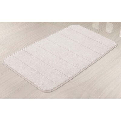 Memory Foam Bath Mat Color: Ivory