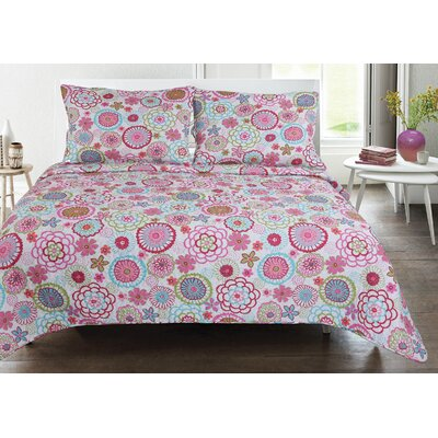 Lauren Taylor Martha Quilt Set Size: King