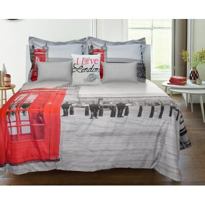 Lauren Taylor London Reversible Comforter Set Size: Full