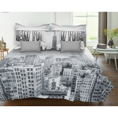 Lauren Taylor New York Reversible Comforter Set Size: Twin