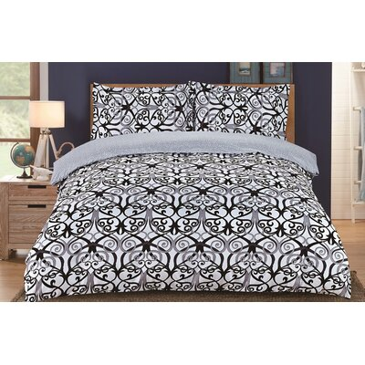 Lauren Taylor Joni Duvet Cover Set Size: Twin