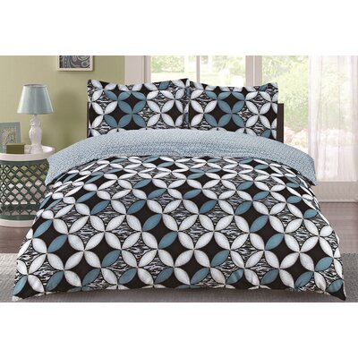 Lauren Taylor Nettie Duvet Cover Set Size: Twin