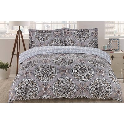 Lauren Taylor Aretha Duvet Cover Set Size: Twin