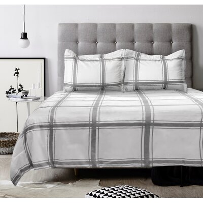 Lauren Taylor 3 Piece Reversible Comforter Set Size: King