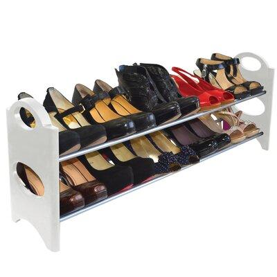 2-Tier 10 Pair Shoe Rack REBR2921 39953980