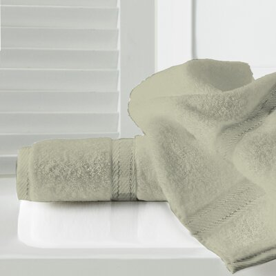 Sandra Venditti Bath Towel 2 Piece Towel Set Color: Stone