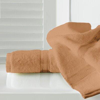 Sandra Venditti Bath Sheet 2 Piece Towel Set Color: Burnt Orange