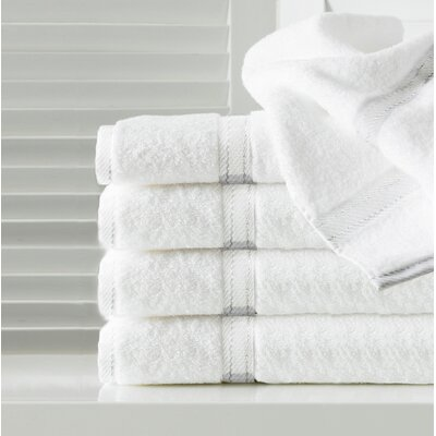 Sandra Venditti Hand Towel 5 Piece Towel Set Color: White