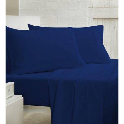 400 Thread Count 100% Cotton Sheet Set Size: Queen, Color: Blue