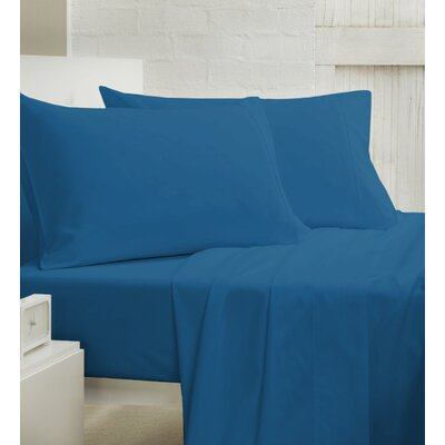 400 Thread Count 100% Cotton Sheet Set Size: Queen, Color: Denim