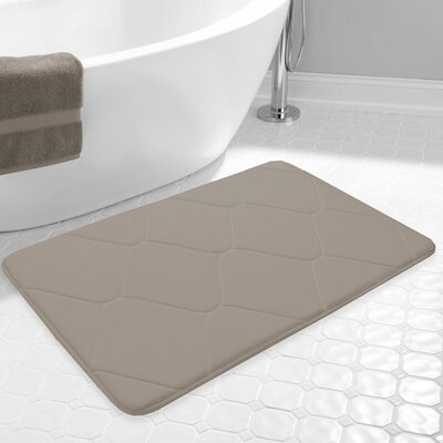 Carnside Bath Rug Color: Taupe