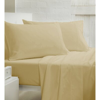 400 Thread Count 100% Cotton Sheet Set Size: Queen, Color: Mustard
