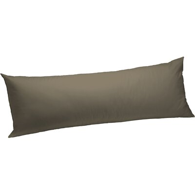 Feather Body Pillow Color: Taupe