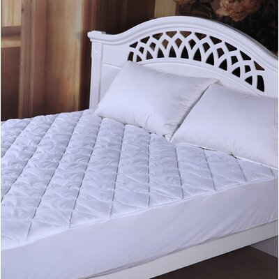 Deluxe 1 Polyester Mattress Pad Size: Queen