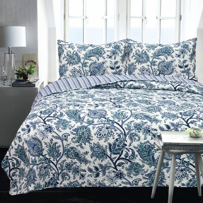 Lauren Taylor 2 Piece Coverlet Set Size: Twin