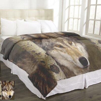 Lamentin Animal Micromink Wolf Blanket