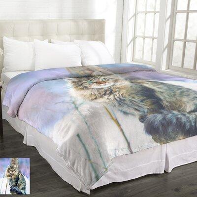 Lamentin Animal Micromink Lynx Blanket
