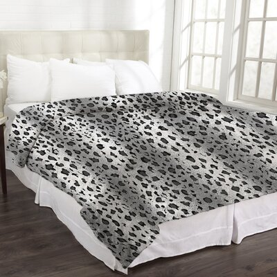 Levy Animal Micromink Leopard Blanket