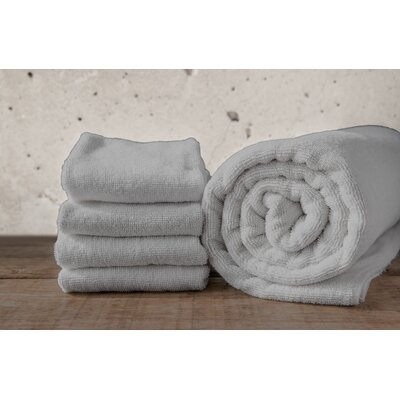 W Home Rayon from Bamboo Spa Hand Towel Color: Gray