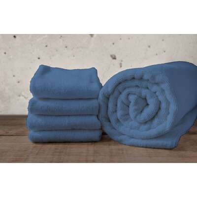 W Home Rayon from Bamboo Spa Washcloth Color: Denim