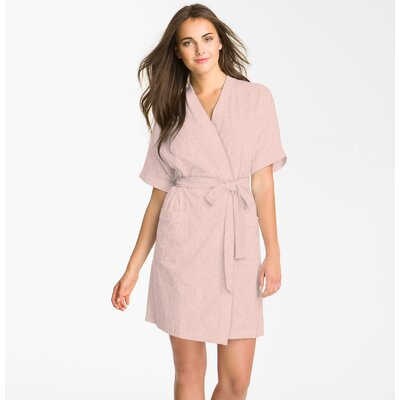 Studio 707 Micro Fleece Bathrobe SB110-PINK