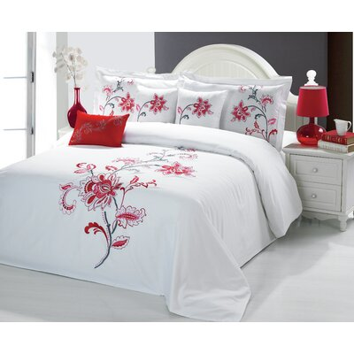 Sandra Venditti 6 Piece Comforter Set Size: Queen