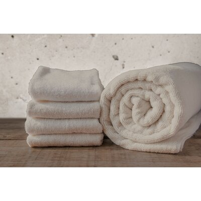 W Home Rayon from Bamboo Spa Hand Towel Color: Taupe