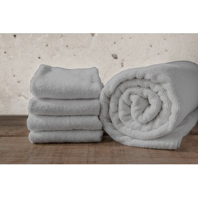 W Home Rayon from Bamboo Spa Bath Sheet Color: Gray