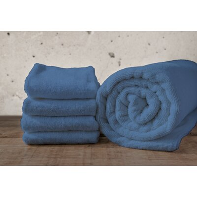W Home Rayon from Bamboo Spa Hand Towel Color: Denim