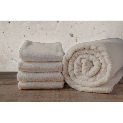 W Home Bamboo Spa Bath Sheet Color: Taupe