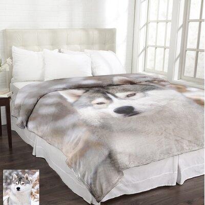 Lamentin Wildlife Micromink Husky Blanket