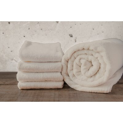 W Home Rayon from Bamboo Spa Hand Towel Color: Ivory
