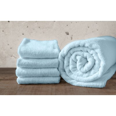 W Home Rayon from Bamboo Spa Bath Sheet Color: Glacier Blue