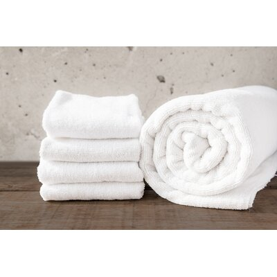 W Home Rayon from Bamboo Spa Hand Towel Color: White