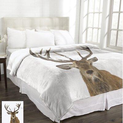 Lamentin Wildlife Micromink Deer Blanket