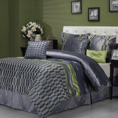 Coderre 7 Piece Comforter Set Size: King