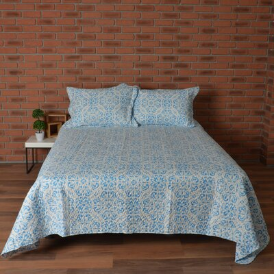 Carnside 3 Piece Quilt Set Size: King
