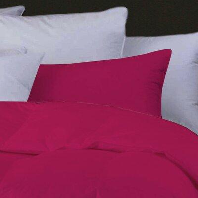 Boyce Feather Standard Pillow Color: Fuchsia