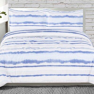 Lauren Taylor Reversible Comforter Set Size: Queen