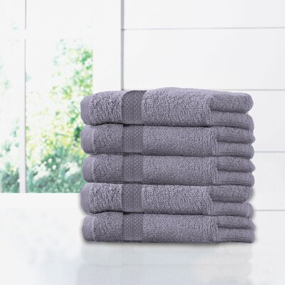 Ruhlman Hand Towel Set Color: Plum