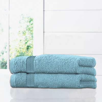 Ruhlman Bath Towel Set Color: Aqua