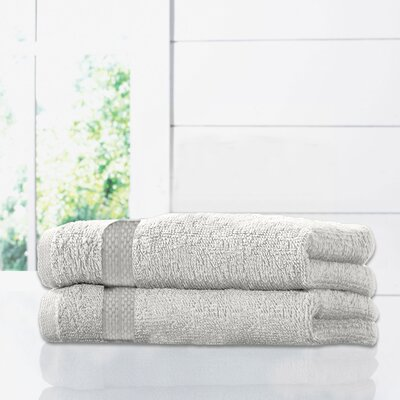 Ruhlman Bath Towel Set Color: White